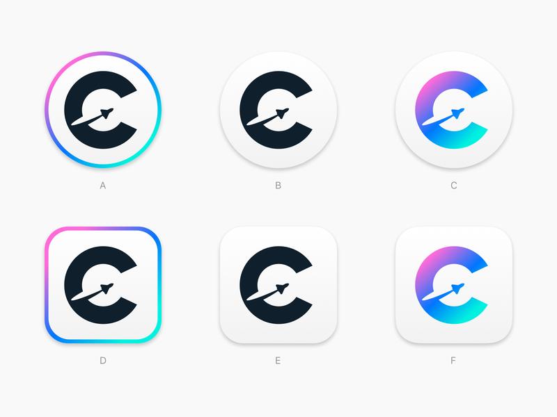 Codespace mac app icon logodesign logo space c icon app mac