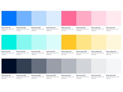 Color system system color system color scheme colors palette colors