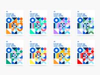 Degreed Color Explorations colors colorful color palette