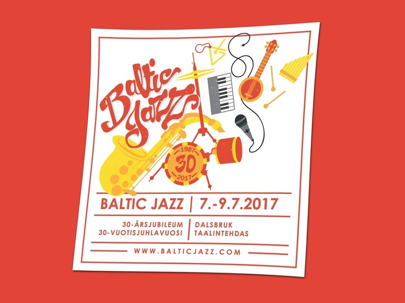 Baltic Jazz Festival Poster