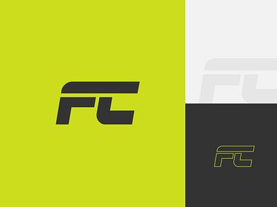 Food Chain Fitness Logo Design type design typography vector branding illustrator illustration identity logo