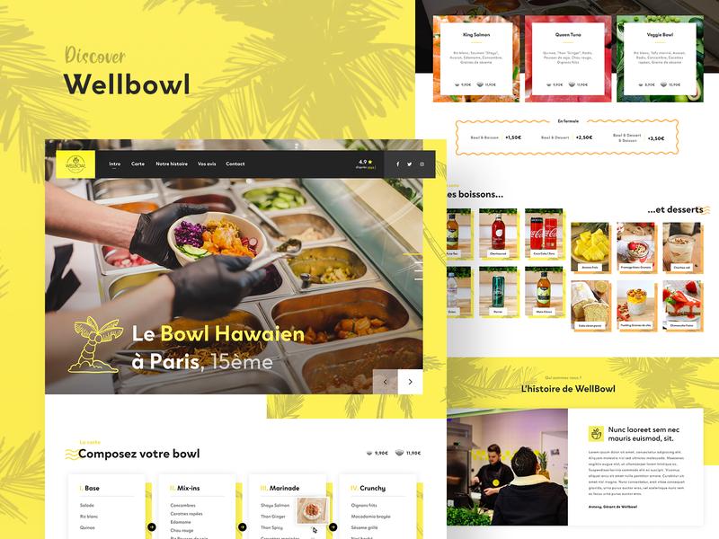 Wellbowl — Website