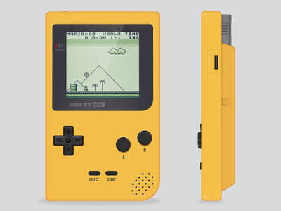 Gameboy Pocket gameboy mario game pocket retro console retrogaming nintendo