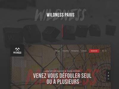 Wildness - Website, WebApp, Flyers webapp flyers landing map webdesign website
