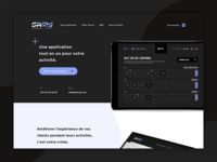 Skrap — Application Landing Page