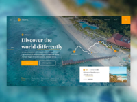 ✈️🏝️ Travel Guide — Website Concept