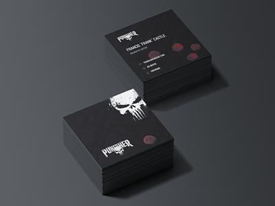 The Punisher — Visit Card thepunisher visit card