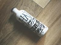 Foo Fighters Lettering - Bottle
