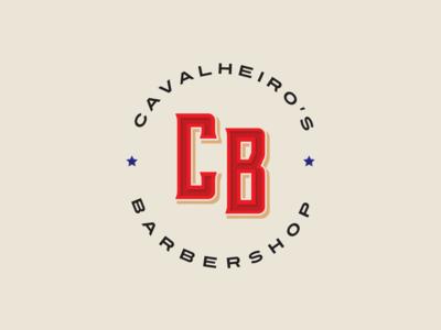 Cavalheiro's Barbershop - Simplified Logo