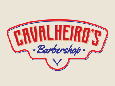 Cavalheiro's Barbershop Logo