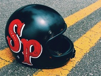Kustom Helmet - Sign Painting