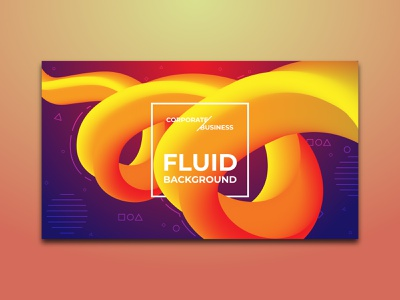 Business Abstract Fluid Background social media poster banner branding eye catching corporate new year 2022 gradient business rounded organic liquid fluid landscape abstract colorful graphic design background