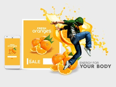 Fresh Oranges (ENERGY FOR YOUR BODY)