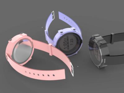 Rhino 3D Watch Design