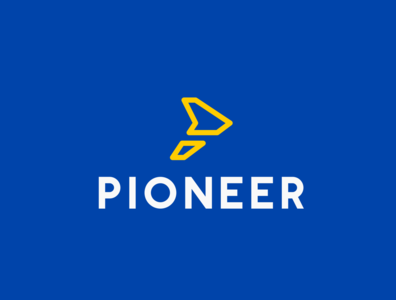Daily logo challenge day 12/50! Airline logo, Pioneer!