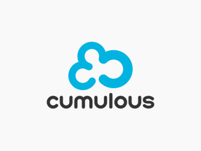 Daily logo challenge day 14/50, Cloud computing logo, Cumulous!