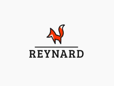 Daily logo challenge day 16/50, Fox logo, Reynard!