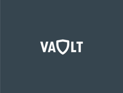 Daily logo challenge day 28/50, clothing brand, Vault!