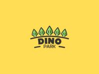 Daily logo challenge 35/50, dinosaur amusement park, Dino park!