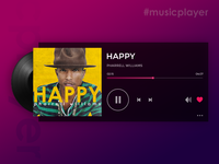 Music player - Daily UI challenge