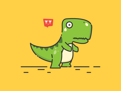 T-Rex Chrome Dino problem offline internet unable game cute fun dino chrome t-rex
