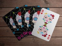 Day of the Dead Playing Cards and Packaging