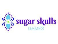 Sugar Skulls Games Logo Design