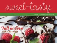sweet+tasty Magazine Cover