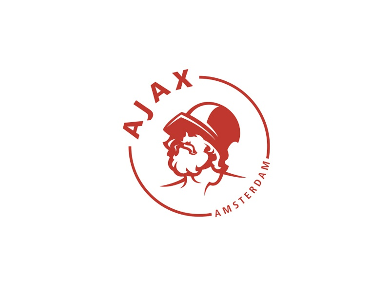Ajax Amsterdam logo concept by Bold Club Studio on Dribbble