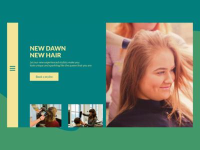 Headhunters Stylist Website Redesign website figma web design ui
