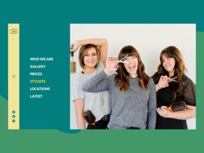 Headhunters NavBar website figma web design ui