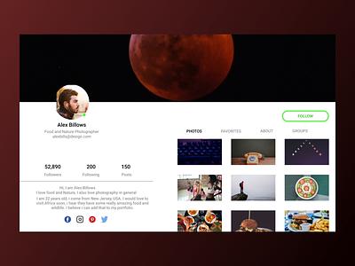 Social Page social app website web figma design ux ui
