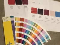 Brand color selection