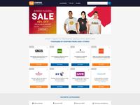 UK Coupons & Cashback Design