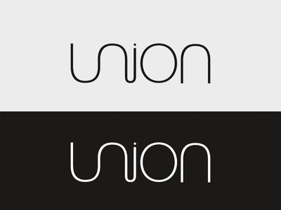 Union - Logo Design branding logo inspiration union just for fun logo design concept logo design design typography logo vector graphic design