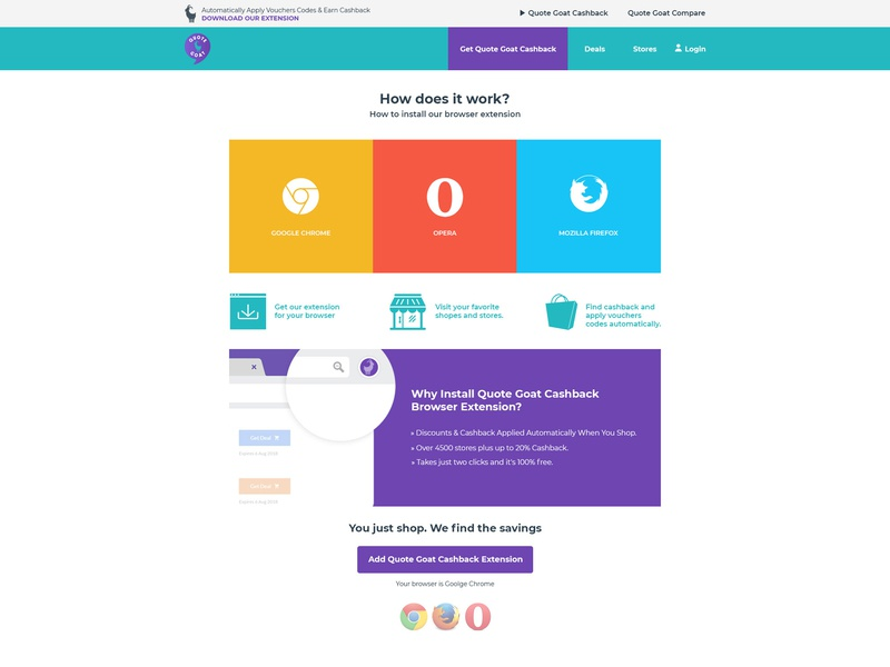 Working - Browser Extension Page website design ui browser extension web design ui design design