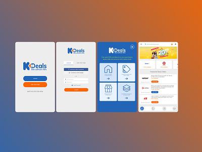 Cashback Mobile App cashback mobile app design app design ui design