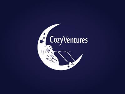 Cozy Ventures Logo brand identity logo design logo graphic design