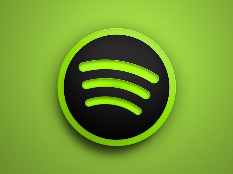 Spotify spotify black icon ui mac os x apple dock icns