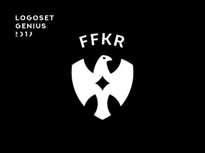 FFKR –Logoset Genius 2019 monochrome simple white black collection logopack logoset bird sport pictogram minimal soccer design sign logotype branding symbol identity logo