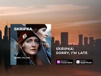 Sorry, I'm Late – Single Cover