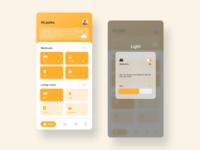 Smart Home Device App Design