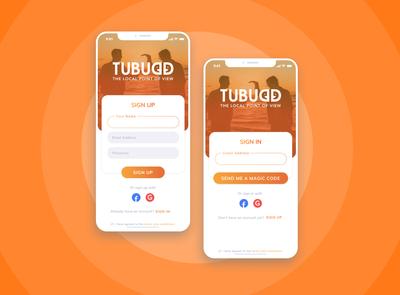 Tubudd Login Form