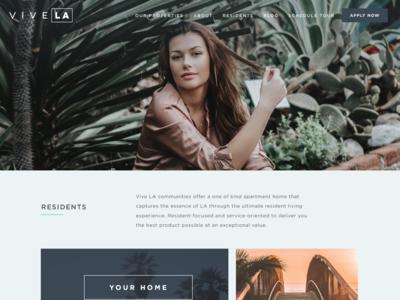 LA Real Estate Website Design