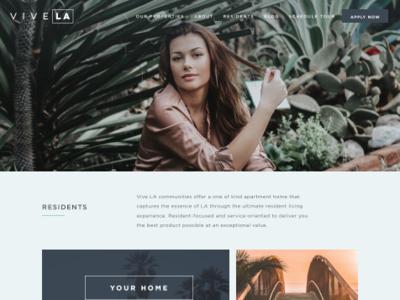 Website Design - Los Angeles Real Estate