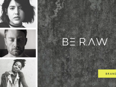 BE R.A.W Brand Guide