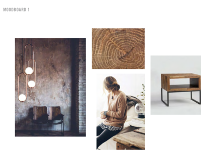 Client Mood board for Brand Strategy
