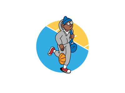 🏀 basketball character animation after effects