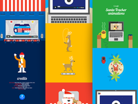 Google Santa Tracker Animations