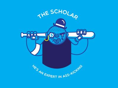 The Scholar villain bad guy